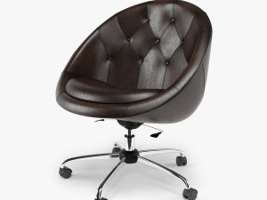 Swiver Chair Brown