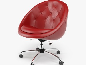 Swiver Chair Red