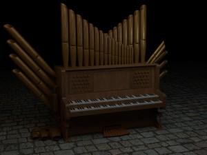 Steampunk organ