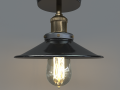 American Country Industrial Loft Lamp