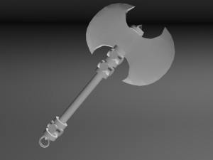 Low Poly Axe