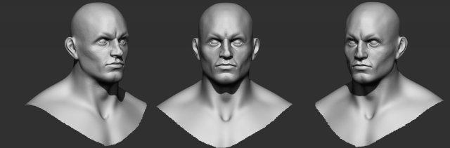 Man Bouncer 3d model 3D Model