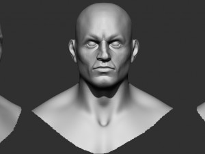 Man Bouncer 3d model