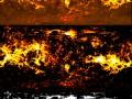 3D Texture Volcanoe Planet