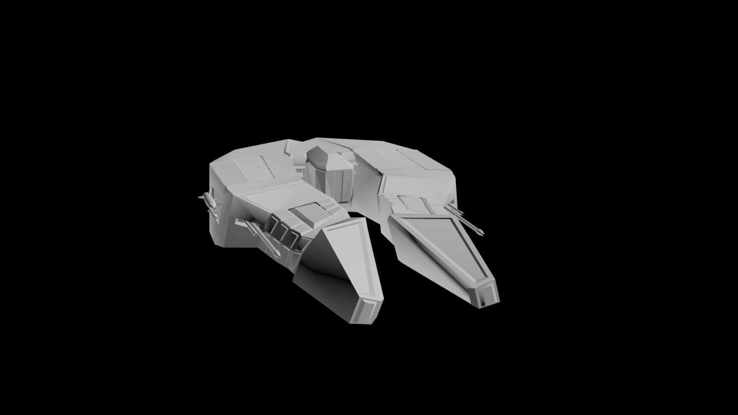 Spaceship Free 3D Model In Fantasy Spacecraft 3DExport