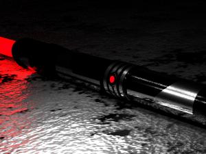 Lightsaber red