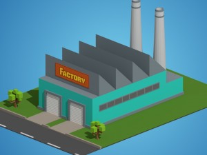 Low Poly Factory
