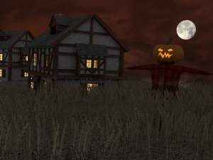 Halloween scnene