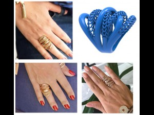 RING JEWELRY 3D PRINT TWISTED