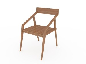 Modern minimalist chair