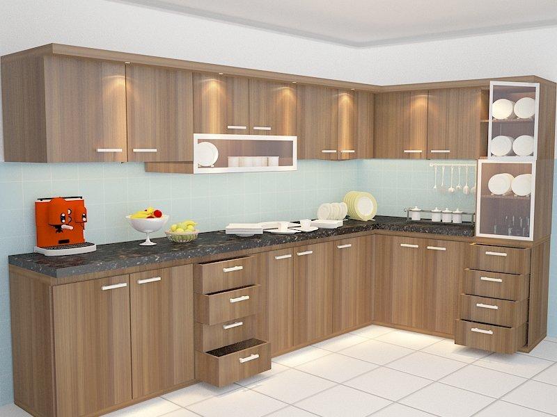 Kitchenset 3d Model In Kitchen 3dexport