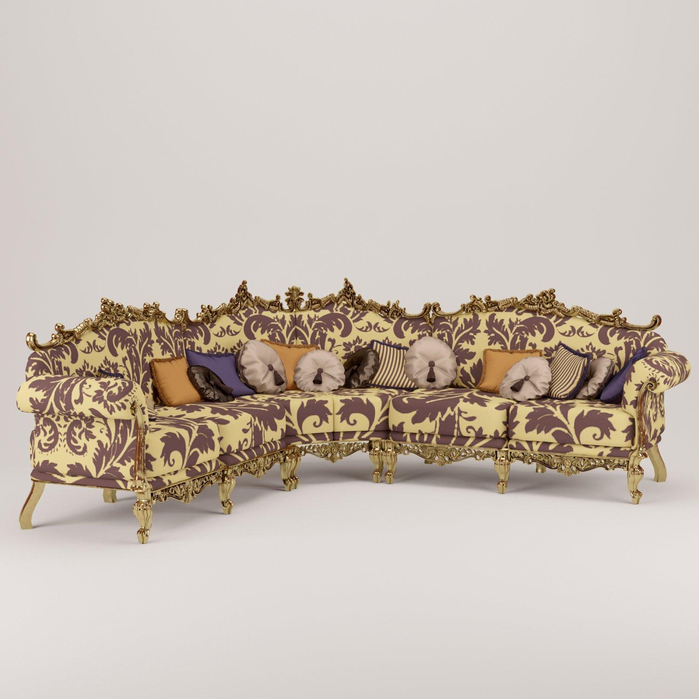 Corner sofa Free 3D Model