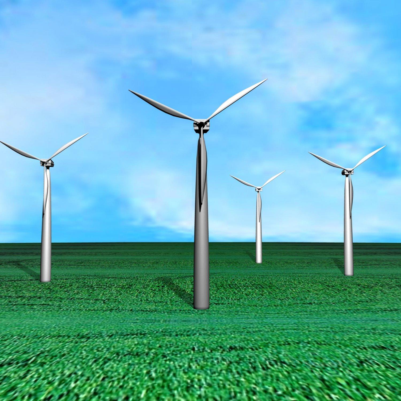 Wind generator Free 3D Model in Machines 3DExport