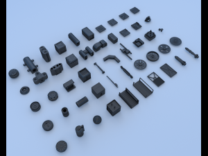 Technical parts collection 3
