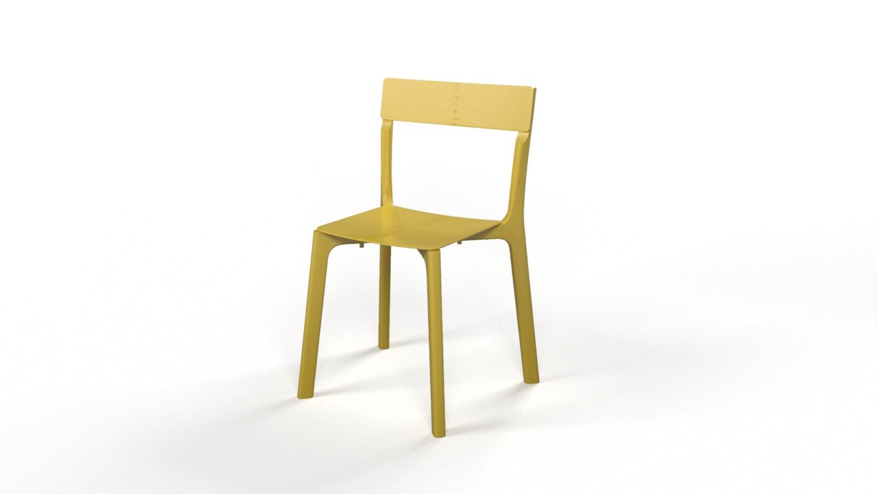 Chair janinge modello 3d in sgabello 3dexport