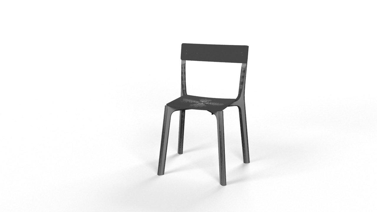 Chair janinge modello d in sgabello dexport