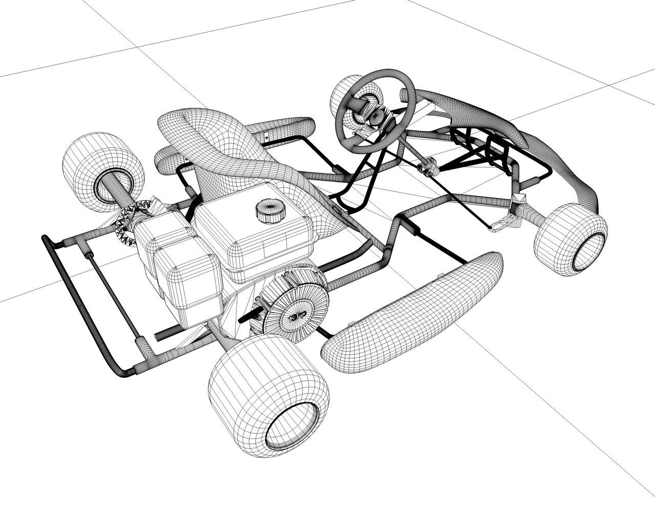 racing go kart 3d model in cart 3dexport Go Kart Go 2 racing go kart remove bookmark bookmark this item