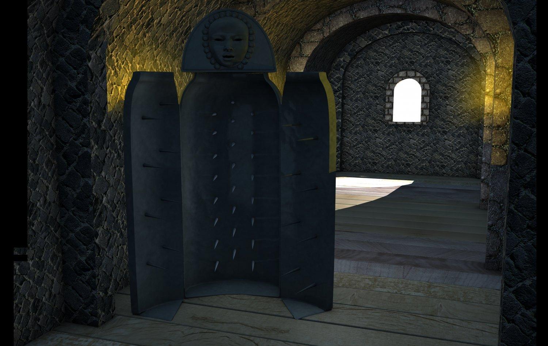 Iron Maiden Torture Device 3D Model in Melee 3DExport