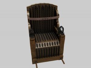 Torture Chair Judas Iron