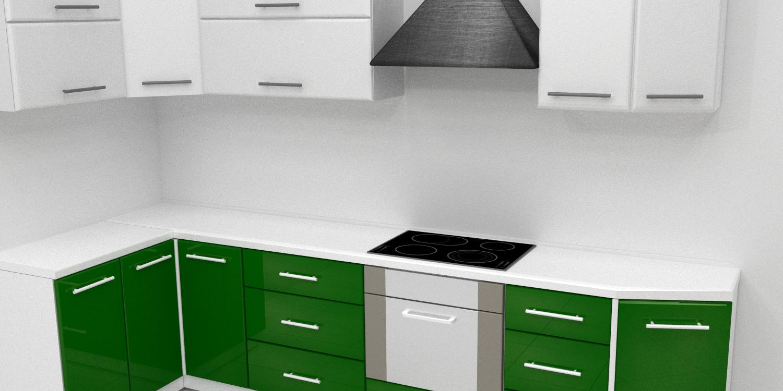 Kitchen 3D Model in Kitchen 3DExport