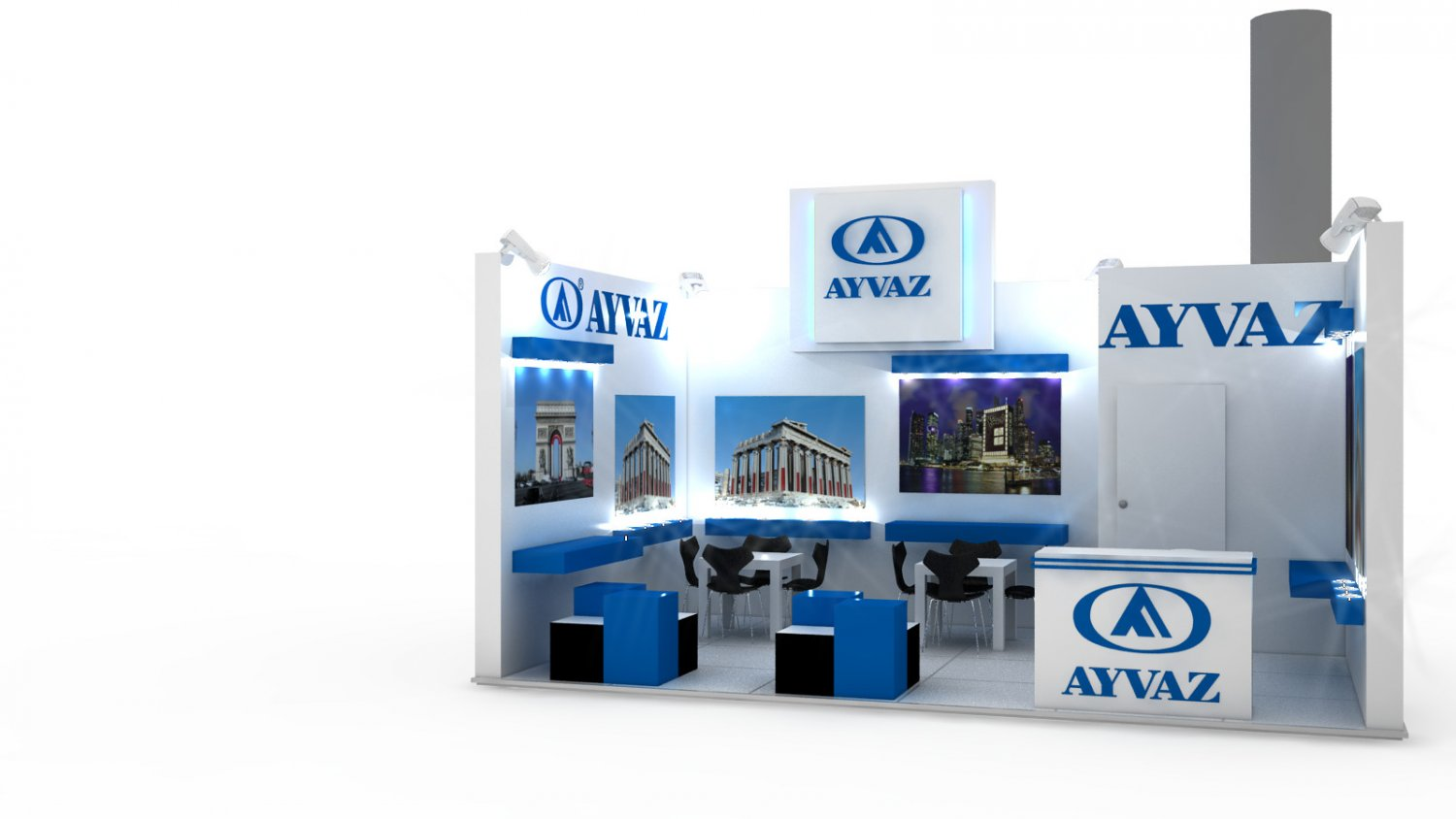 Exhibition Stand 3d Model Free : Ayvaz exhibition stand design d model in exhibit dexport