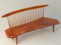 Nakashima Bench Chair