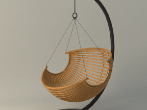 Wood Hanging Chair