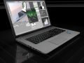 HP Laptop High Poly