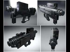 Heavy Blaster Gun