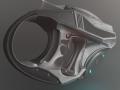 Futuristic Handgun
