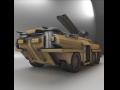 Amphibious Tank Rigged