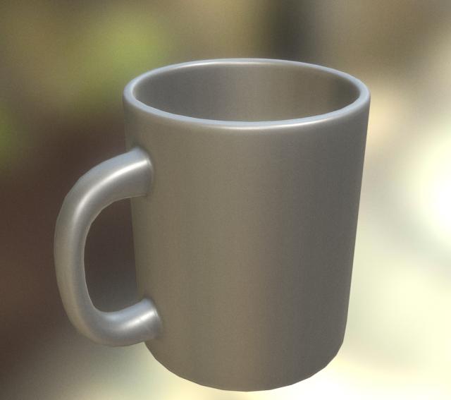 Coffee Mug Obj
