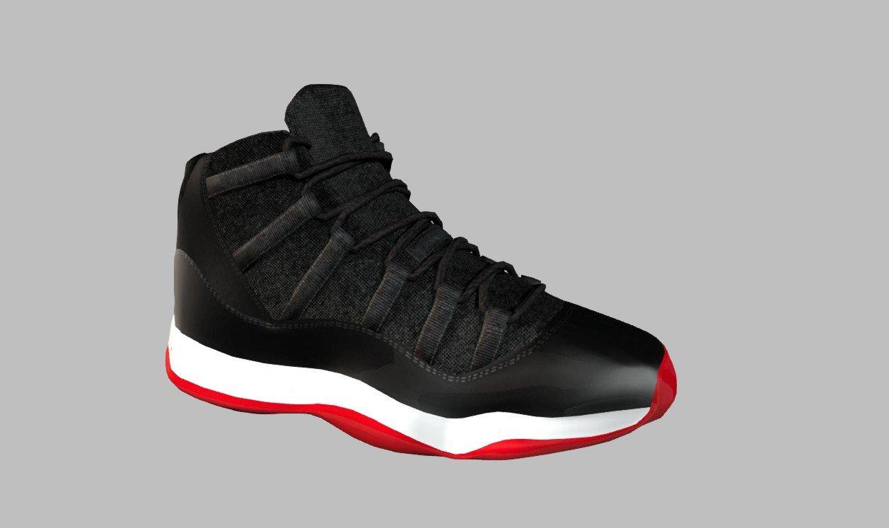 Nike Air Jordans 3D Model in Clothing 3DExport 5ae68597d2ad