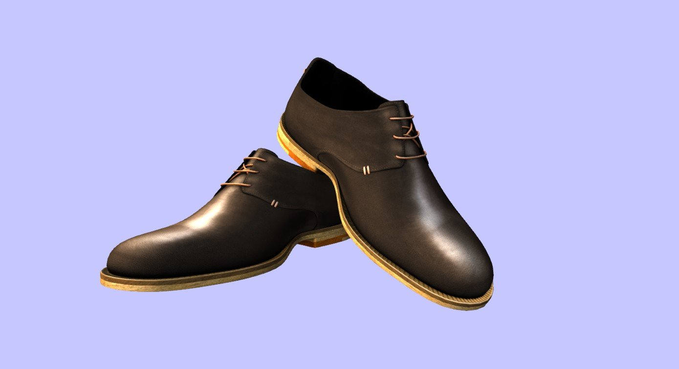 Mens Suit Shoes 3D Model in Clothing 3DExport