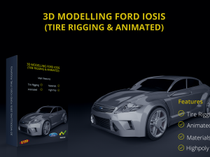 Ford Iosis 2005 with Tire rigging Animated
