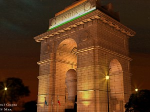 3d model of india gate