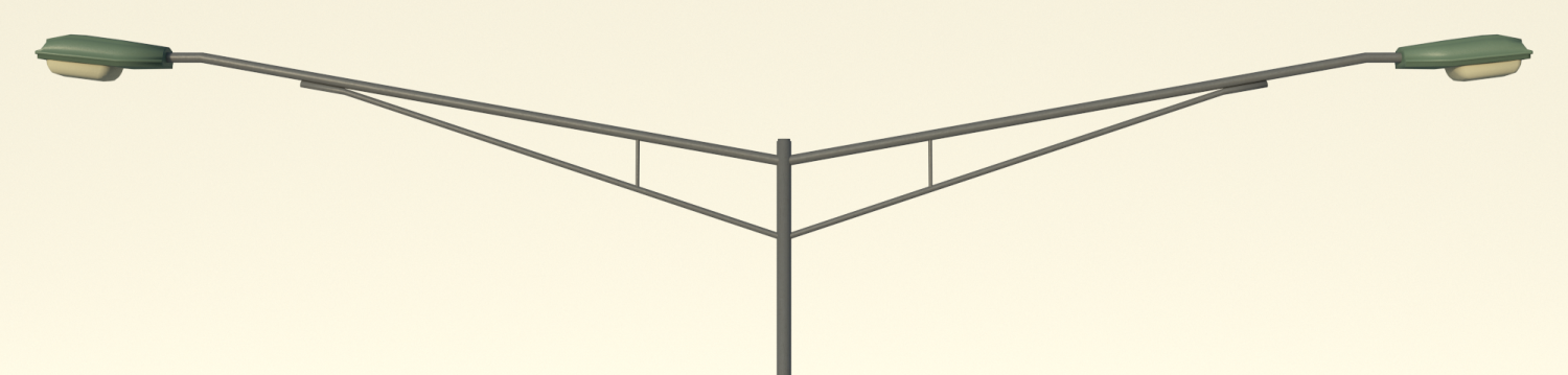 Street light-Light pole 3D Model in Miscellaneous 3DExport