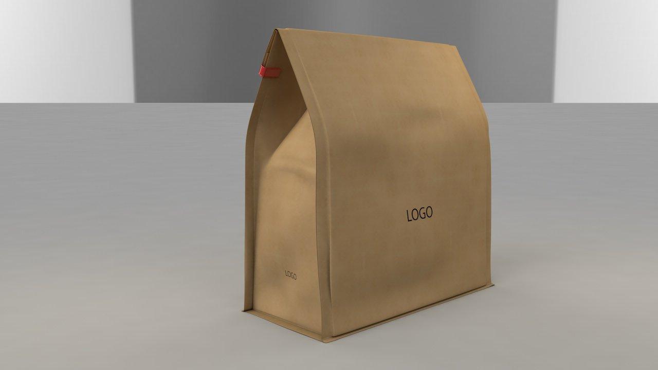 3D Paper Bag 3D Model in Other 3DExport