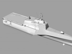 Trimaran Military Ship