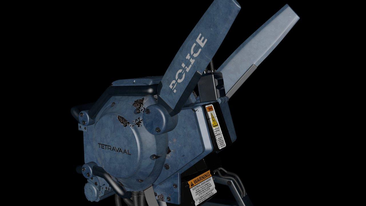 Chappie Scout 22 3D Model in Robot 3DExport