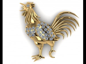 Chicken pendant