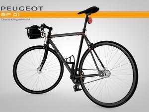 Peugeot AF-01 Rigged