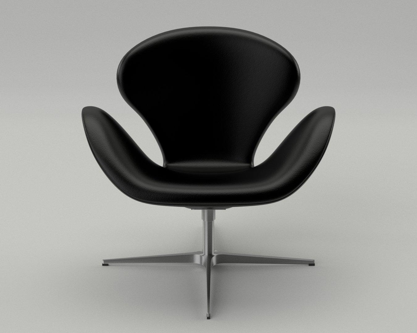 Fritz Hansen Swan Chair 3d Model In Chair 3dexport