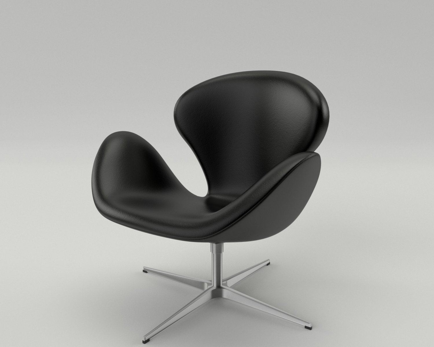 Fritz Hansen Swan Chair 3D Model