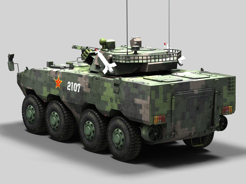 Norinco ZBL-09 Snow Leopard Modelo 3D in Combate 3DExport