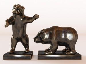 2 Bears Figure