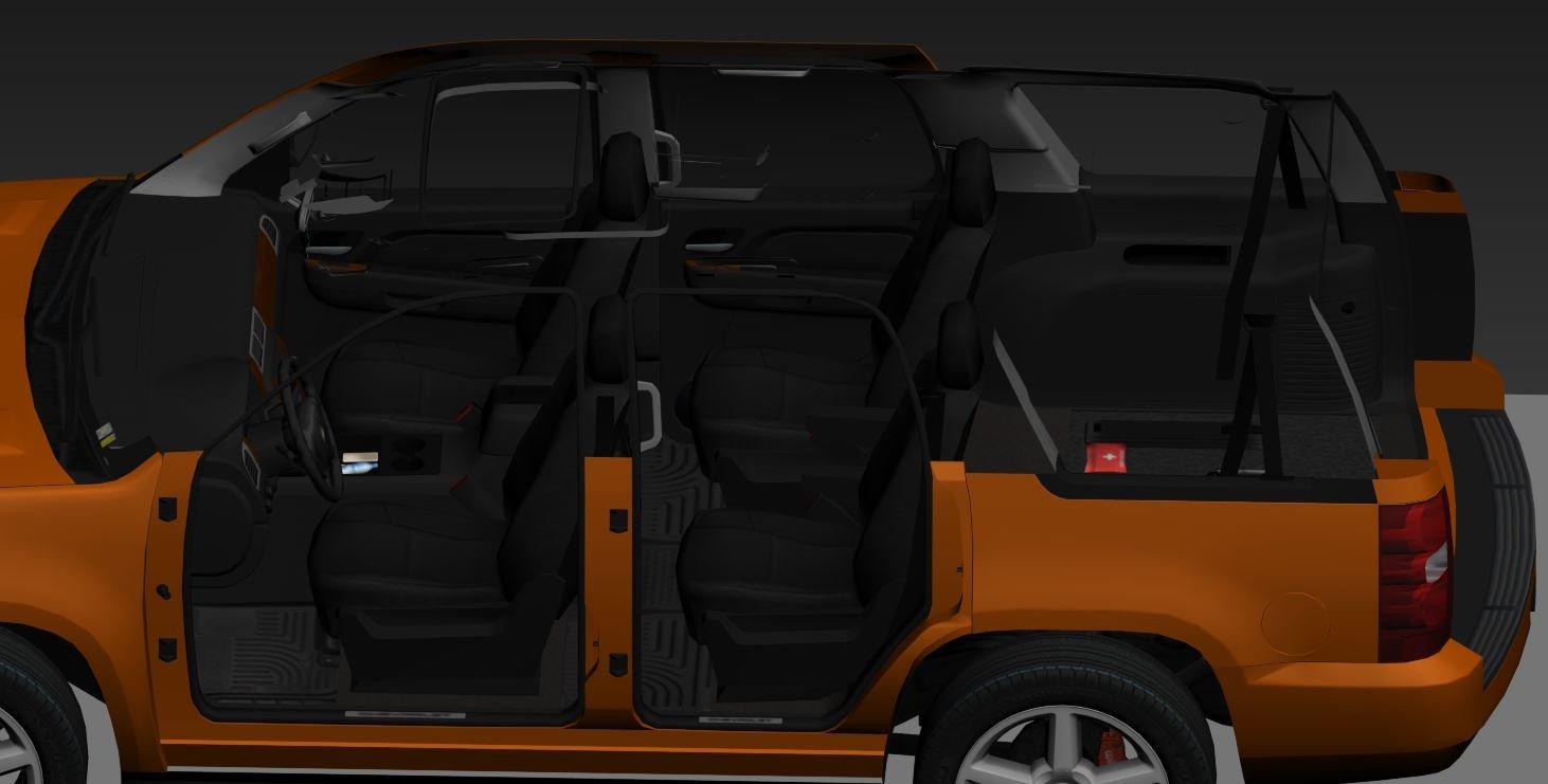 Chevrolet Tahoe 2008 Free 3D Model in SUV 3DExport