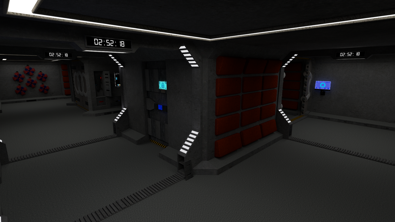 Starbase sci-fi spacecraft Free 3D Model in Fantasy Spacecraft 3DExport