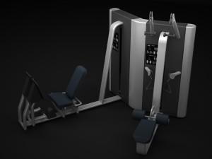 Multistation Gym TWIN 2