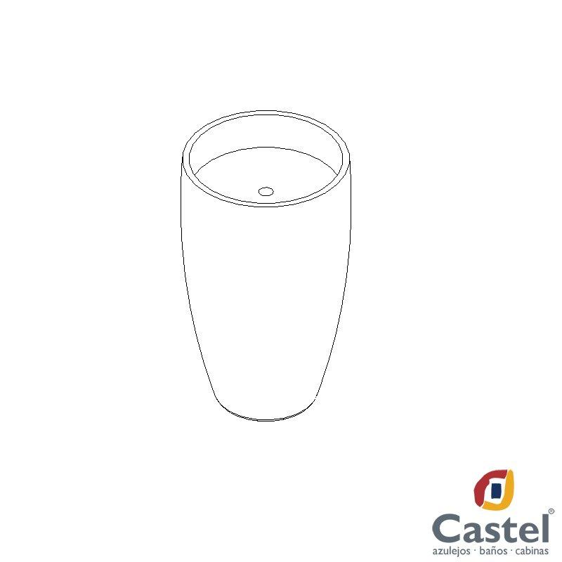 Lavabo Kinea Castel 3D Model in Miscellaneous 3DExport